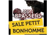 logo Sale Petit Bonhomme - Mon Brassens